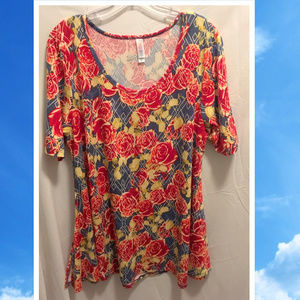 Size XL LuLaRoe Floral Shirt